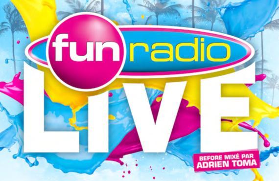 Affiche Concert Fun Radio