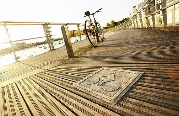 La Vélodyssée à Saint Gilles Croix de vie