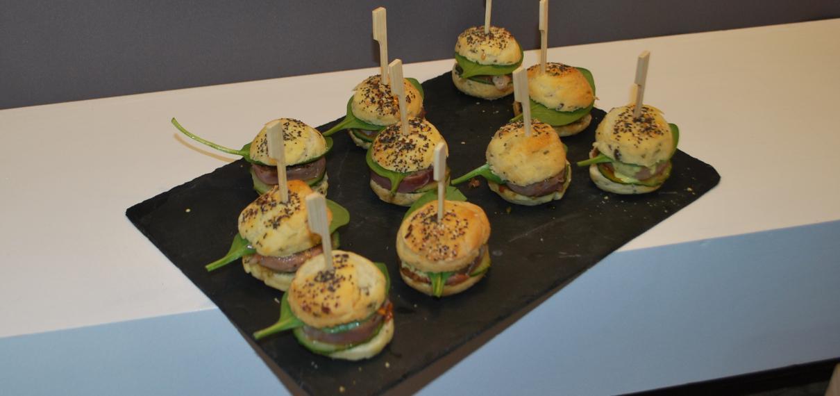 Atelier culinaire au Vendée Globe