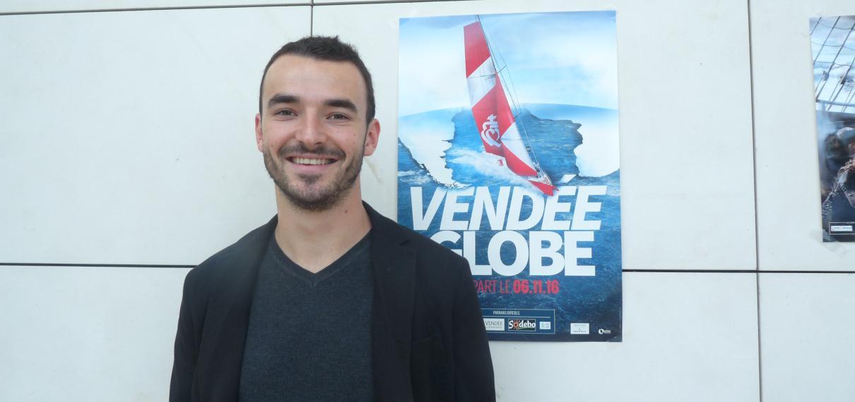 Interview d'Adrien au Vendée Globe
