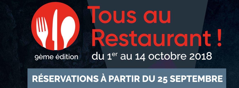 Affiche Tous au Restaurant