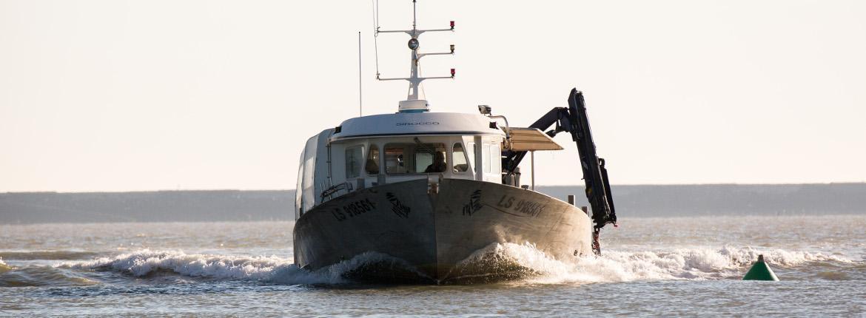 bateau moules vendee baie de l'aiguillon