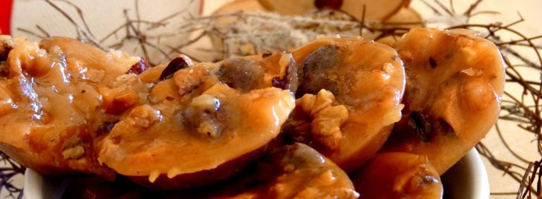 Caramels au beurre salé aux noix et noisettes