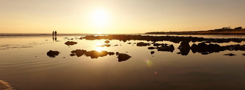 Coucher de soleil - Plage des Dunes à Brétignolles sur Mer