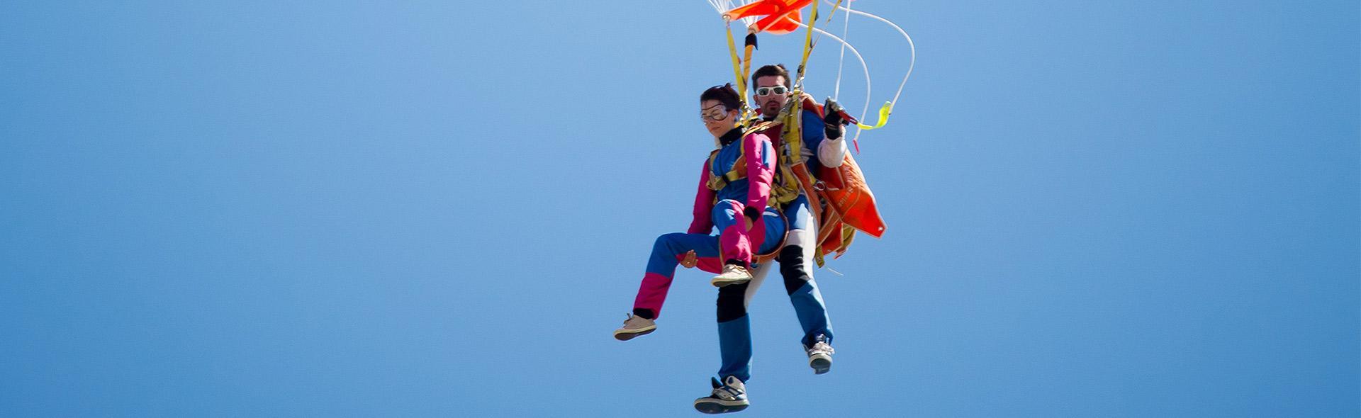 Saut en parachute Vendée Évasion