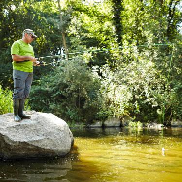 Pêche dans la vallée de l'Yon