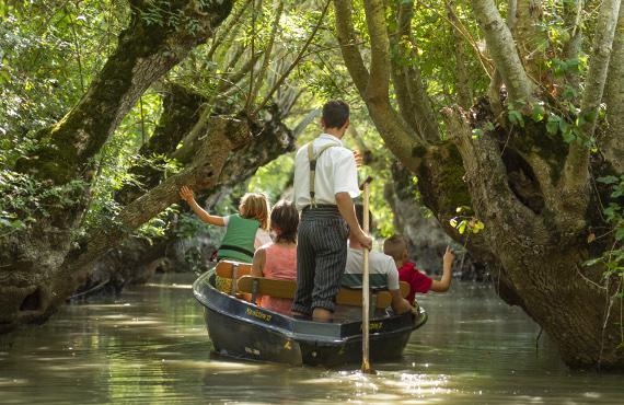 balade barque marais poitevin vendee
