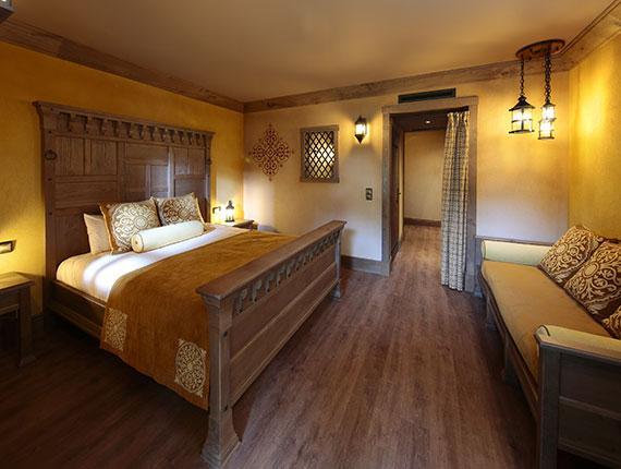 Chambre hotel La Citadelle au Puy du Fou