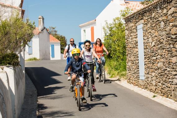 Idée séjour à vélo sur l'Île d'Yeu