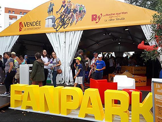 Fan Park du Tour de France