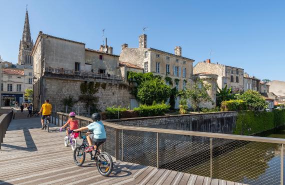 Centre-ville de Fontenay le Comte