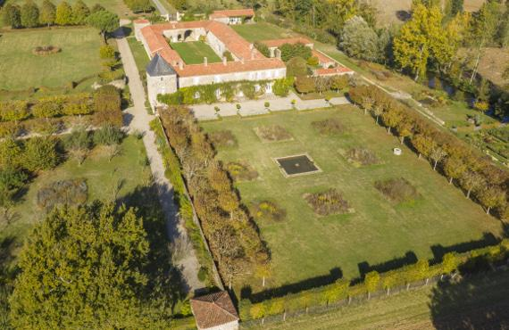 jardin remarquable chaligny vendee