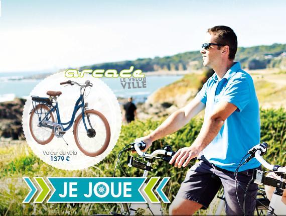 Jeux-concours vélo électrique Vendée Tourisme