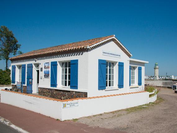 La Maison des Écrivains de la Mer à Saint Gilles Croix de Vie