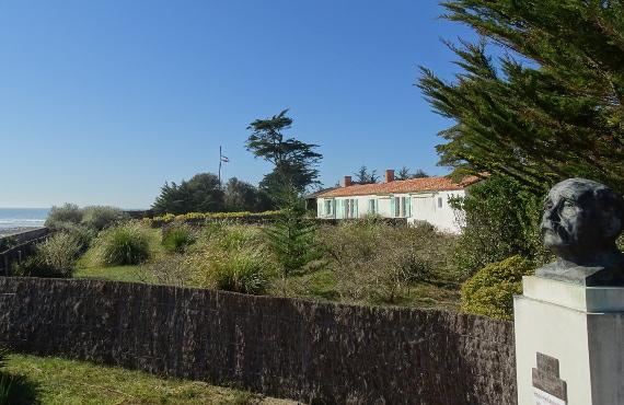 Maison de Georges Clemenceau à Saint Vincent sur Jard