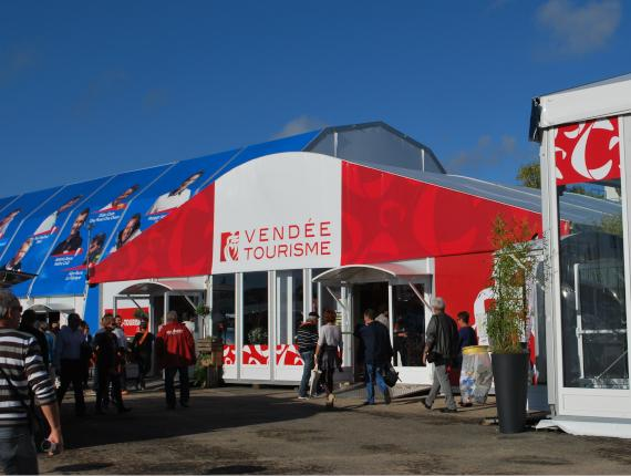 Pavillon du Tourisme au Vendée Globe