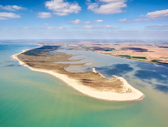 Pointe de Larçay Faute sur Mer