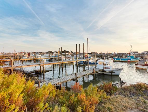 Port du Bec à Beauvoir sur Mer