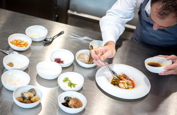 restaurant étoilé vendée la marine noirmoutier
