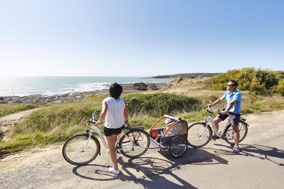 Séjour vélo - Week-end en camping 100% famille à Brem sur Mer