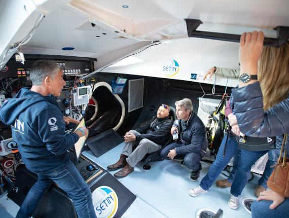 Séminaire skipper Vendée Globe