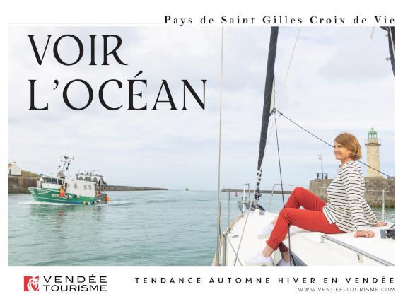 voir l'océan à Saint Gilles Croix de Vie