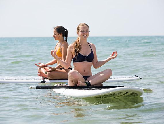 Yoga Paddle à Longeville sur Mer