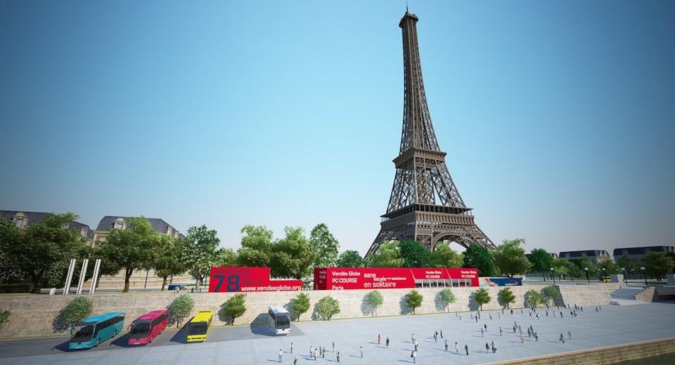 PC Course à La Tour Eiffel de Paris
