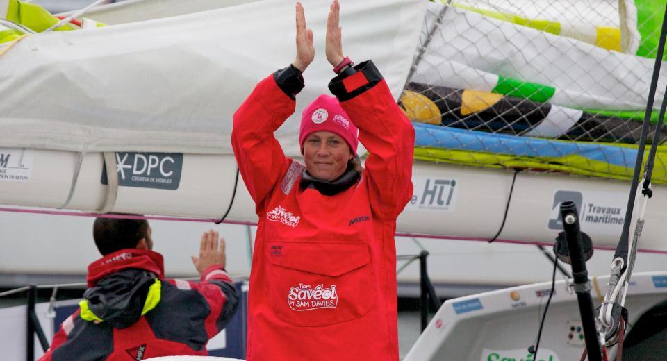 Samantha Davies skipper