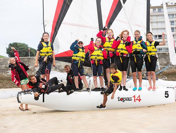 Catamaran à l'Institut Sports Océan aux Sables d'Olonne