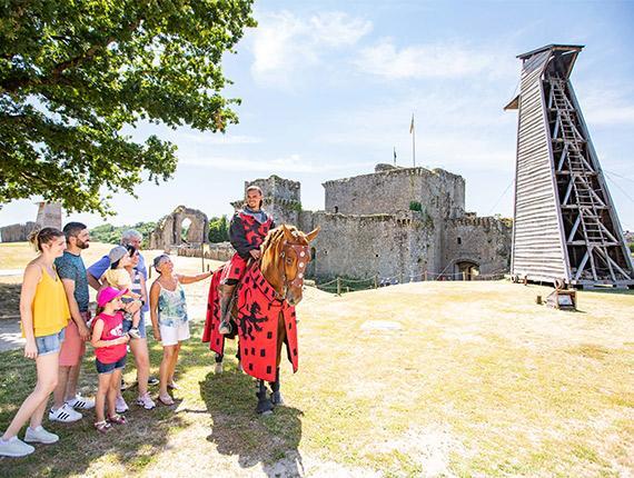 Visite au Château de Tiffauges