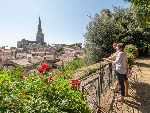 Vue sur Fontenay le Comte
