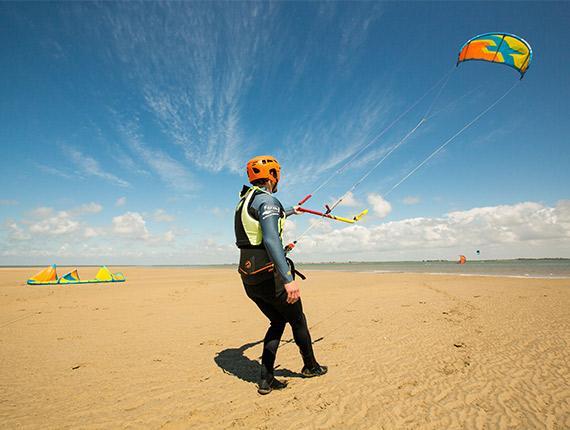 Kitesurf à Noirmoutier en l'Île