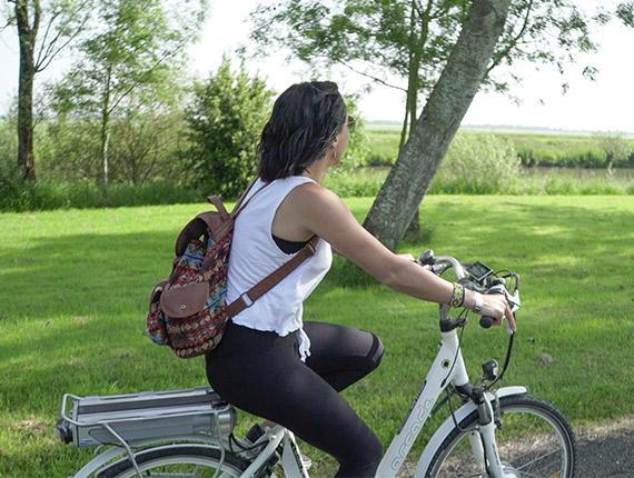 Little Gypsy à vélo