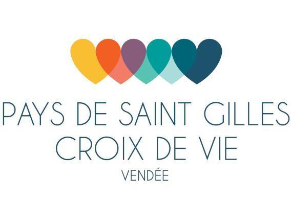 Logo des pays de saint gilles croix de vie