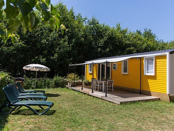 Mobil home au Camping La Garangeoire à Saint Julien des Landes