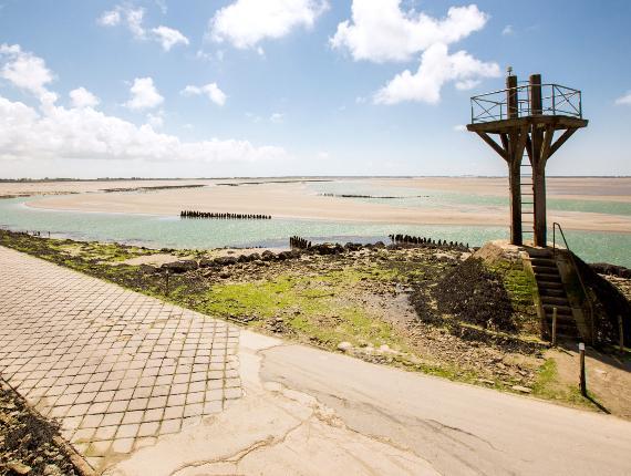 Passage du Gois à Noirmoutier en l'île