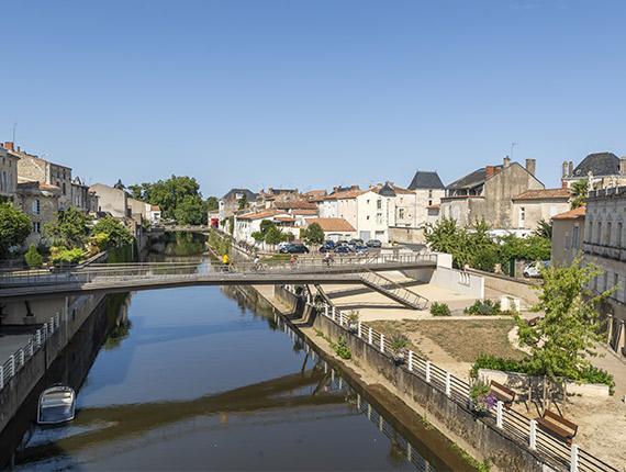 Paysage de Fontenay le Comte