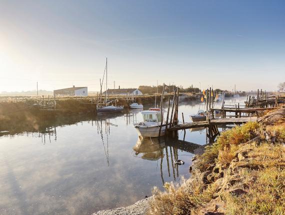 Petit port à la Barre de Monts