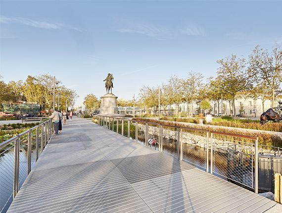 Place Napoléon à La Roche sur Yon