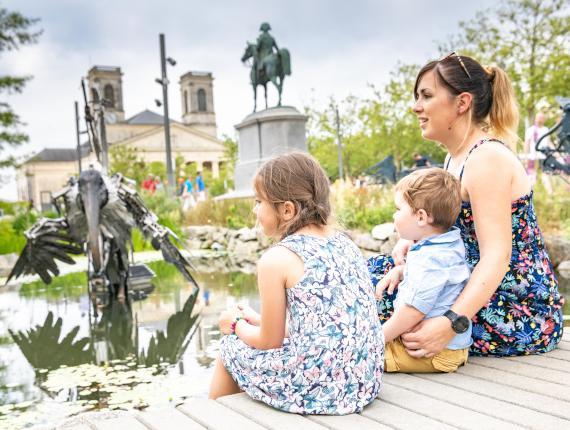 Animaux de la Place Napoléon à La Roche sur Yon