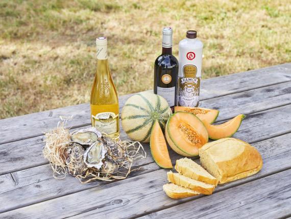 produits terroir sud vendee gache vin melon huitres