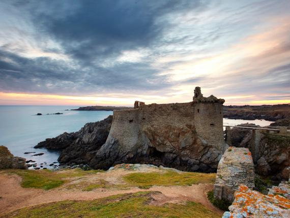 Vieux château de l'île d'yeu