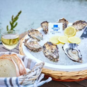 Bourriche de fruits de mer