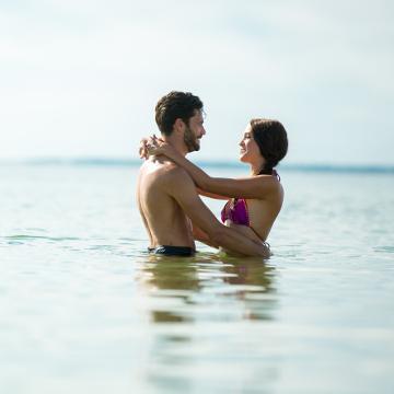 Couple Plage La Faute sur Mer