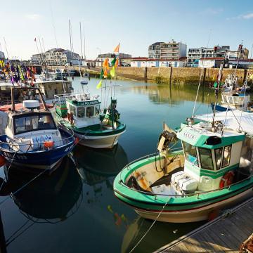 Port de pêche Saint Gilles Croix de Vie