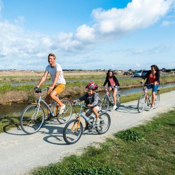 Vélo en famille sur l'île de Noirmoutier