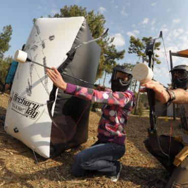 Archery Tag à Explora Parc à Saint Jean de Monts