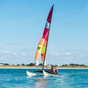 Catamaran sur l'île de Noirmoutier