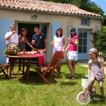 Gîte Maillezais Marais poitevin Famille